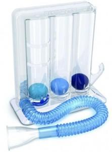 incentivador respiratorio por flujo