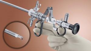 Histeroscopio quirúrgico